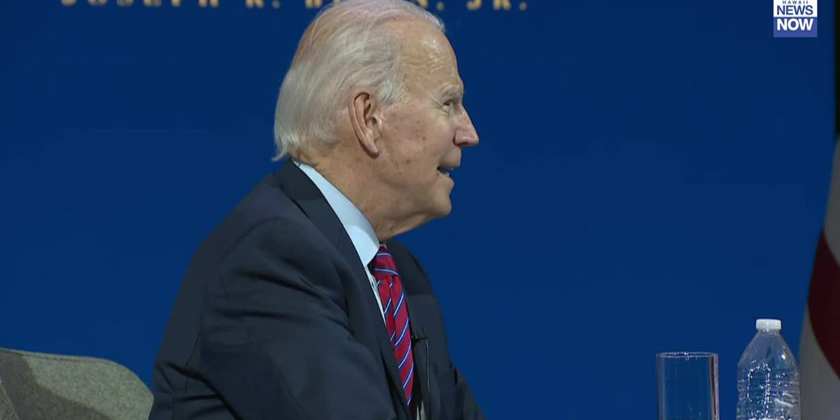 President-elect Biden says his administration will have an open door for mayors