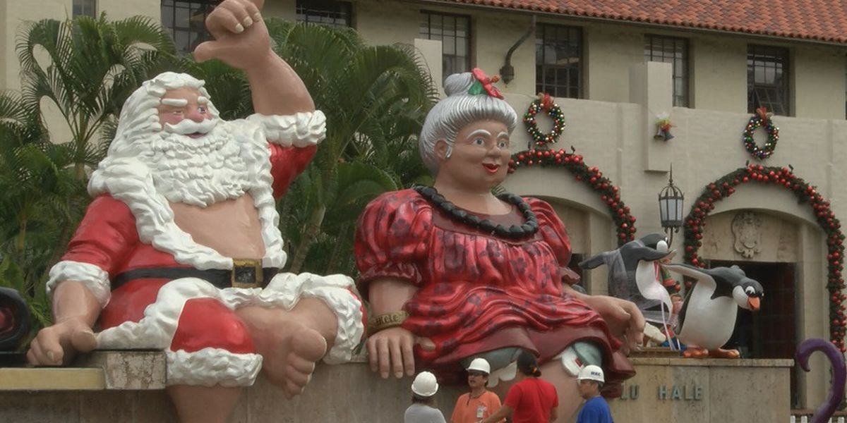 As the holidays near, city picks 'Kalikimaka Kritters' as this year's wreath contest theme