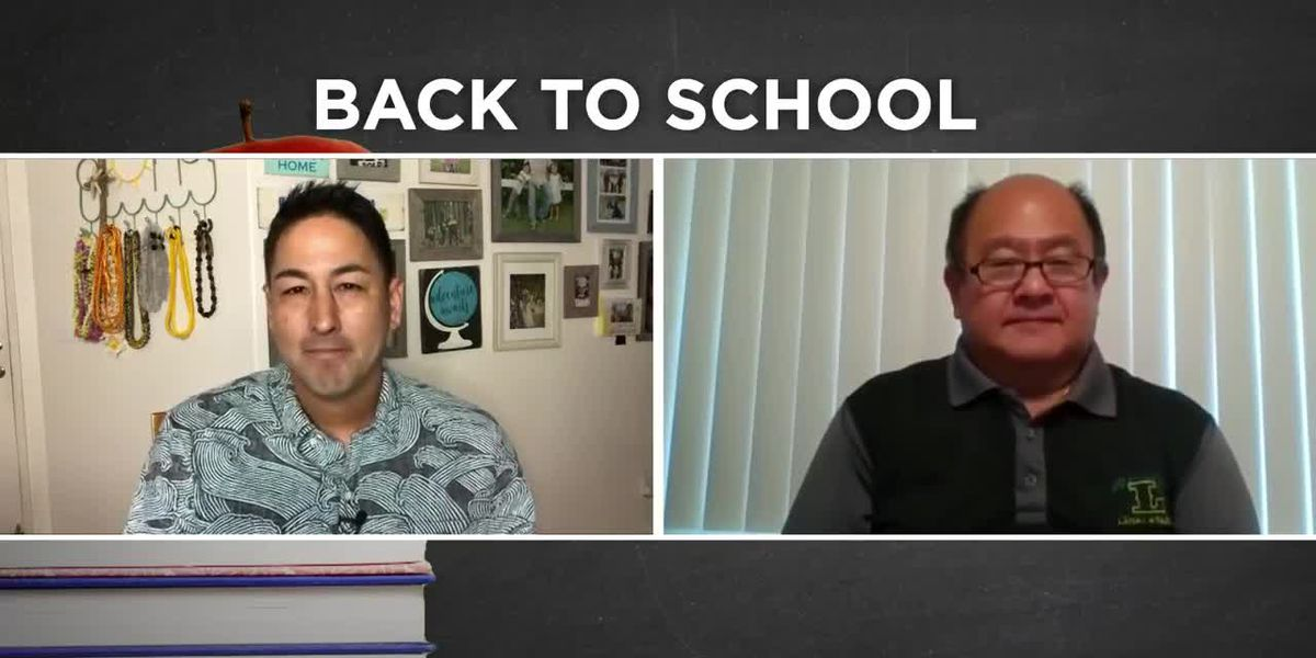 Back to School: Lanai High and Elementary School principal on first day of school