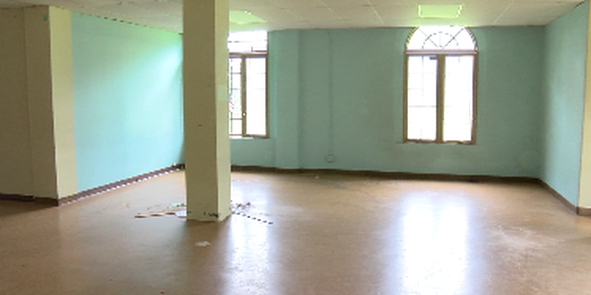 An old hospital in Hilo is being transformed into a haven for the homeless