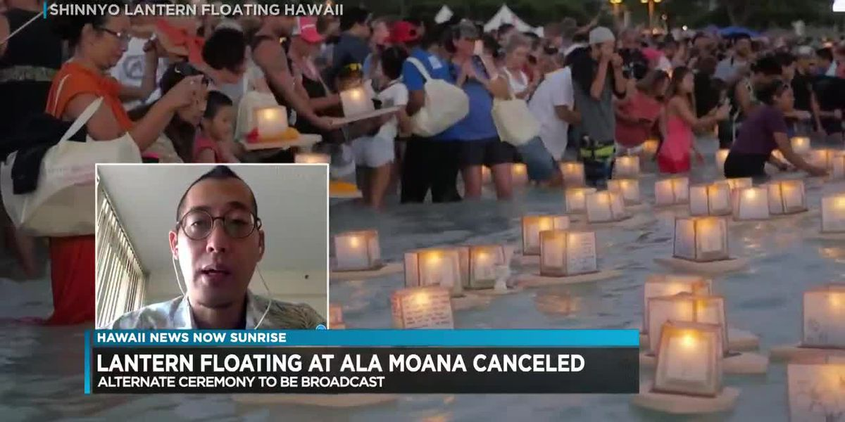 Ala Moana Beach Park will be empty, but the Shinnyo Lantern Floating will still go on