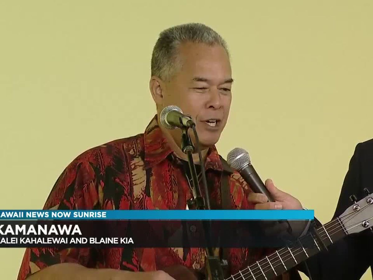 Kamanawa releases new Christmas CD