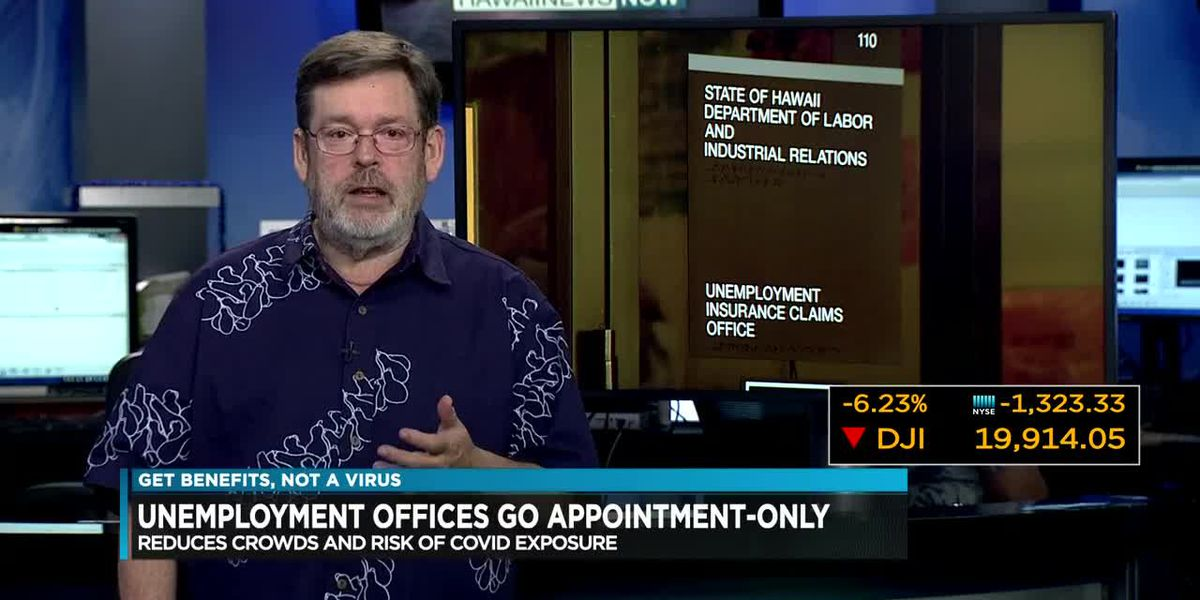 Business Report: Unemployment offices go appointment-only