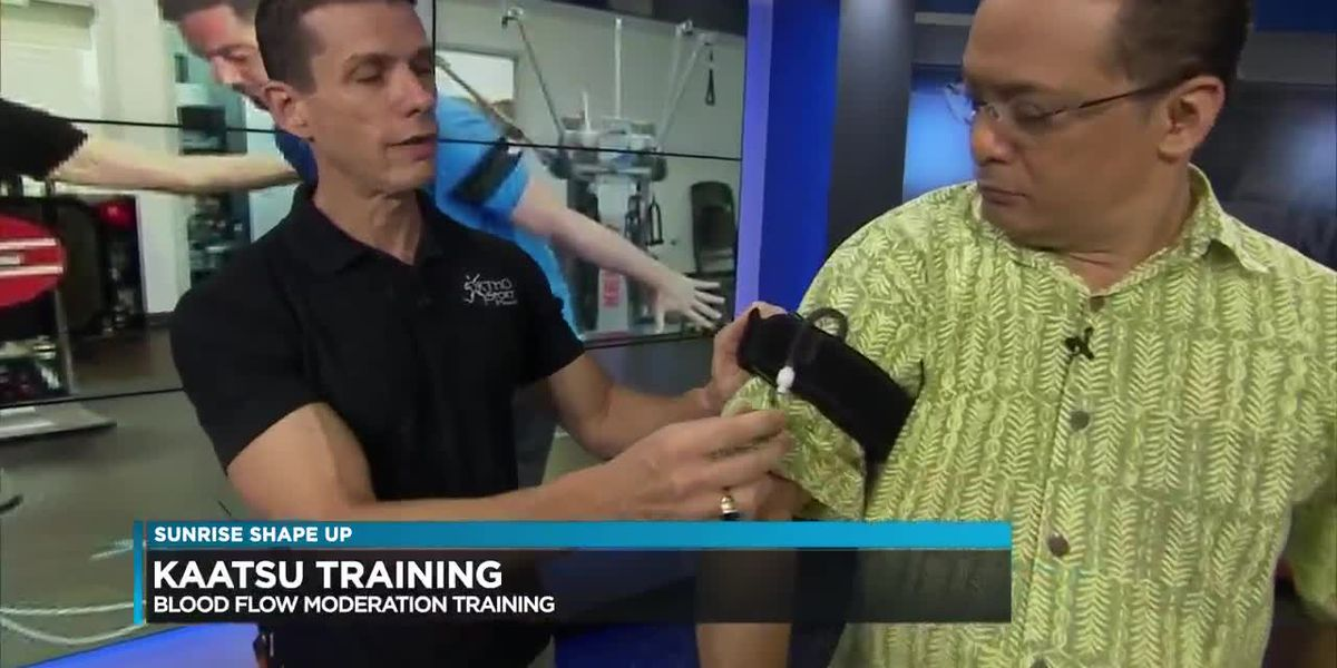 Sunrise Shape Up: A new type of training his helping people moderate their blood flow