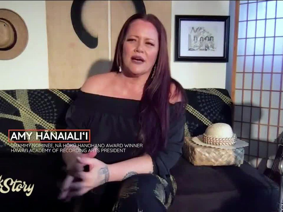 Amy Hānaialiʻi sings and shares how it feels to perform at Merrie Monarch