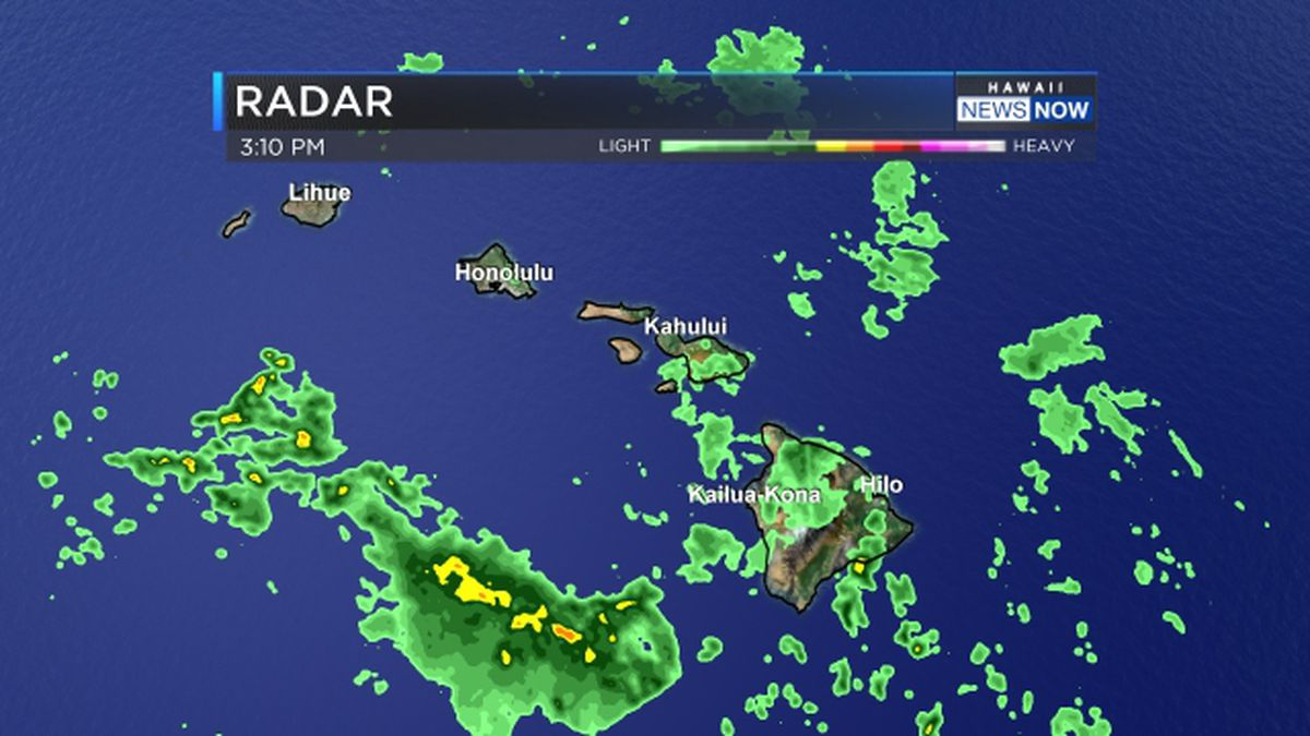 Flash flood watch issued for Oahu, Kauai; thunderstorms possible