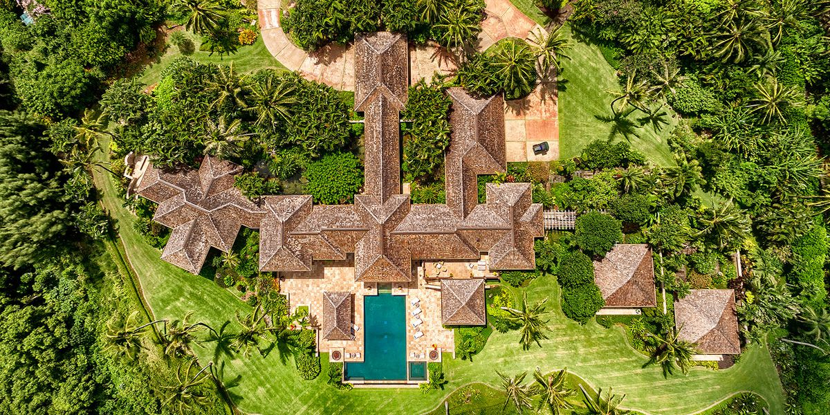 A 15-acre beachfront compound on Kauai is now Hawaii's priciest single-family home