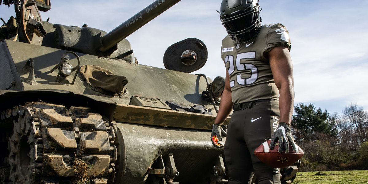 """Army football unveils """"Tropic Lightning"""" uniform honoring Hawaii-based 25th Infantry Division"""