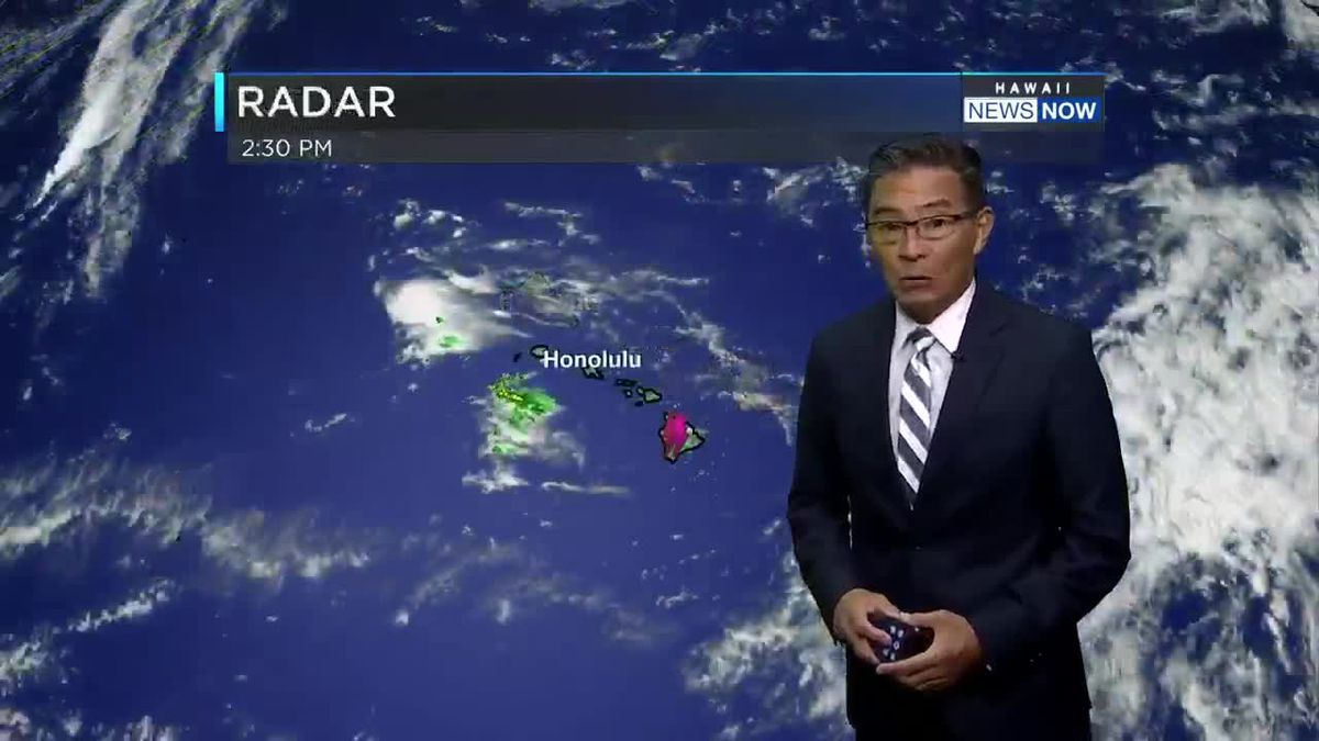 HNN 5 p.m. Weather forecast Saturday, March 28, 2020