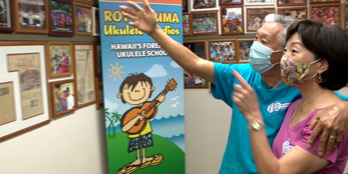 Hawaii Strong: With lots of passion and a little tech, they've kept their ukulele students strumming