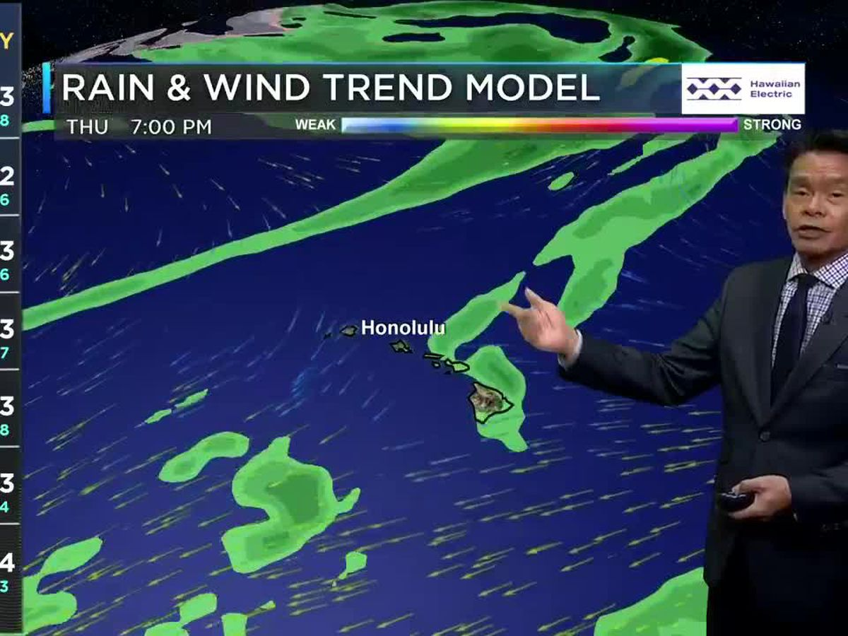 Forecast: More showers possible Sunday