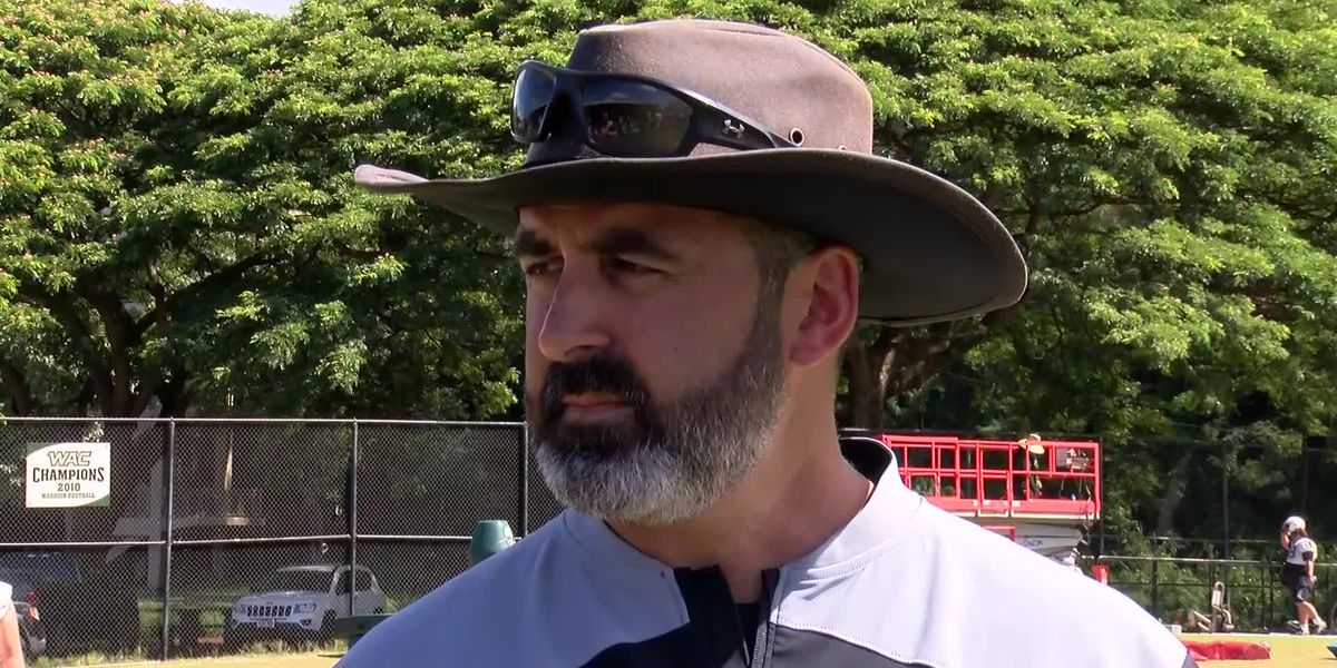 Rolovich sounds off after Day 1 of 2019 training camp