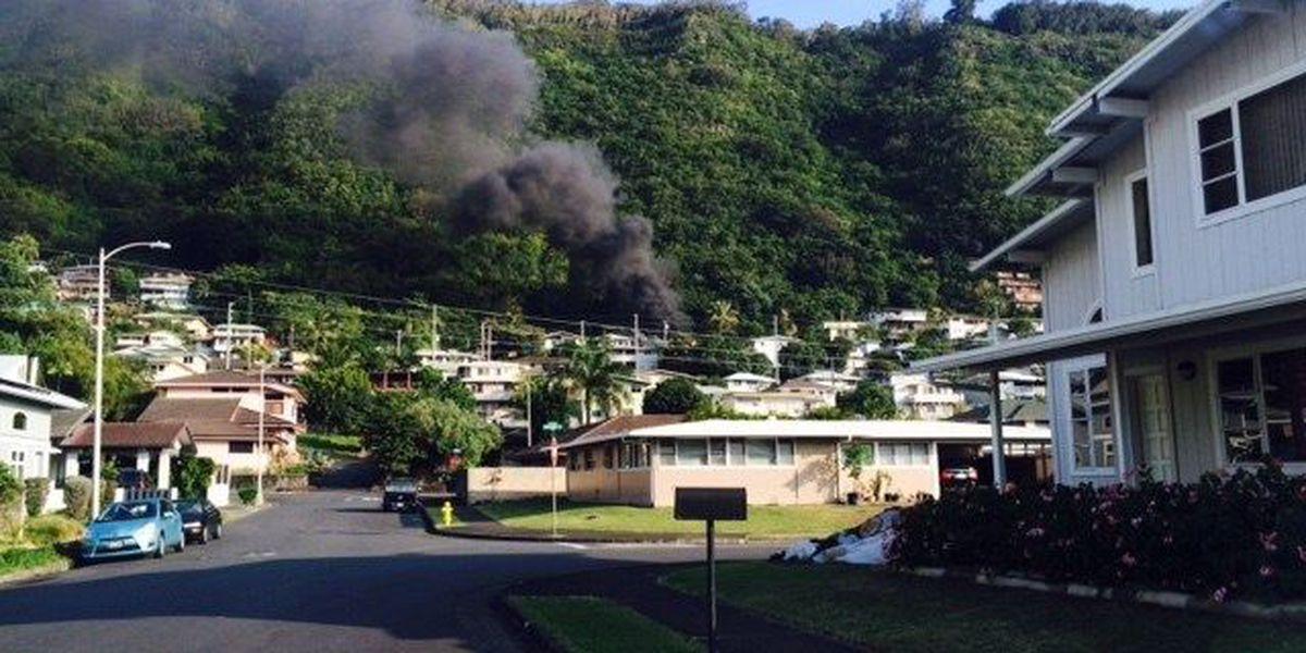 Fire causes major damage to Manoa home