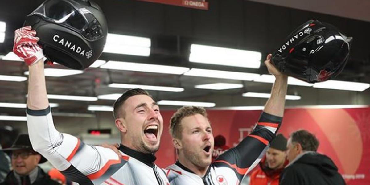 Hawaii-born bobsledder wins gold for Canada in PyeongChang