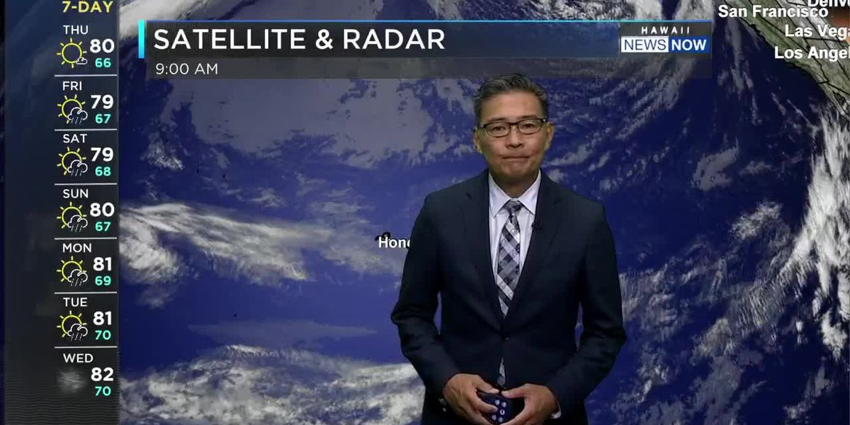 HNN Morning Web Weather Thursday, March 4, 2021