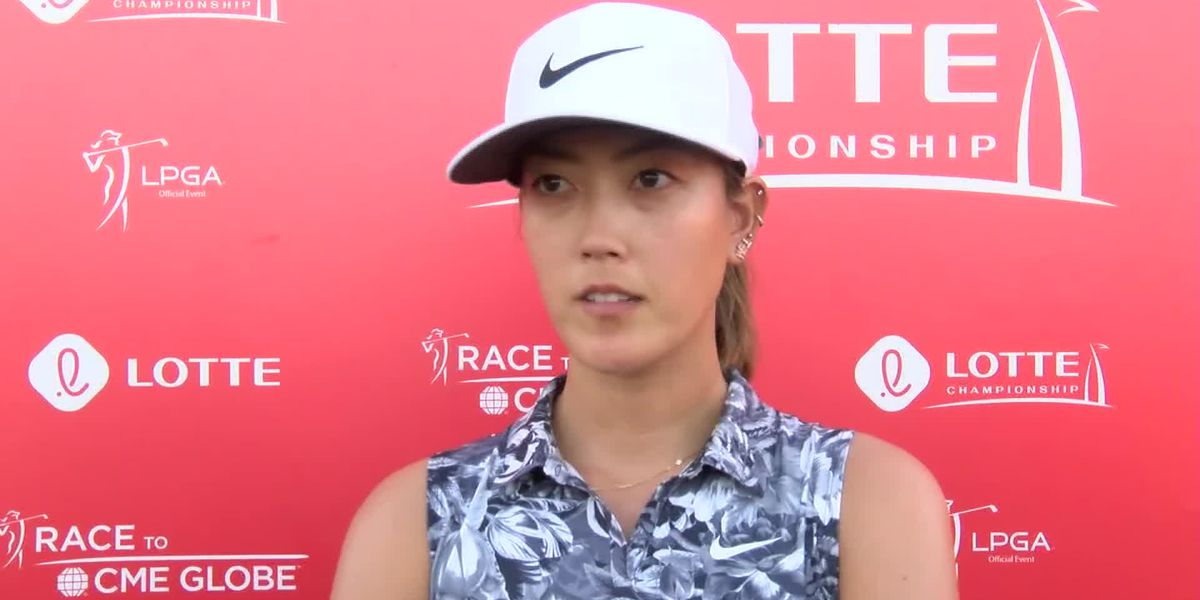 Wie (+5) struggles through Round 1 of 2019 LOTTE Championship