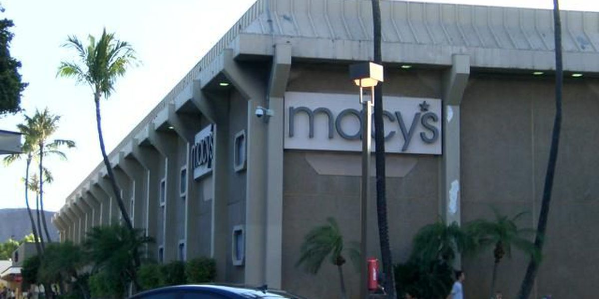 Macy's plans to close dozens of stores, including one in Hawaii