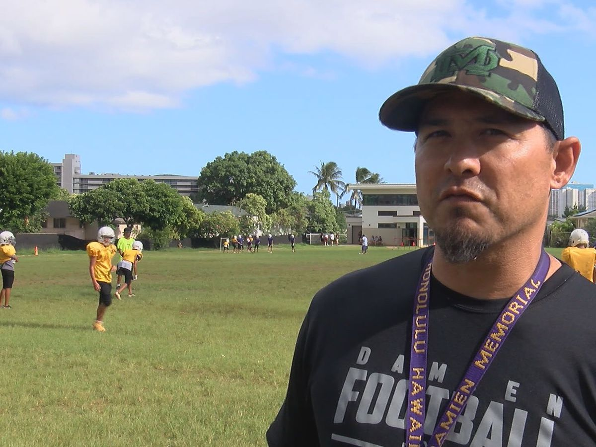 Klaneski reinstated as the head football coach at Damien Memorial School