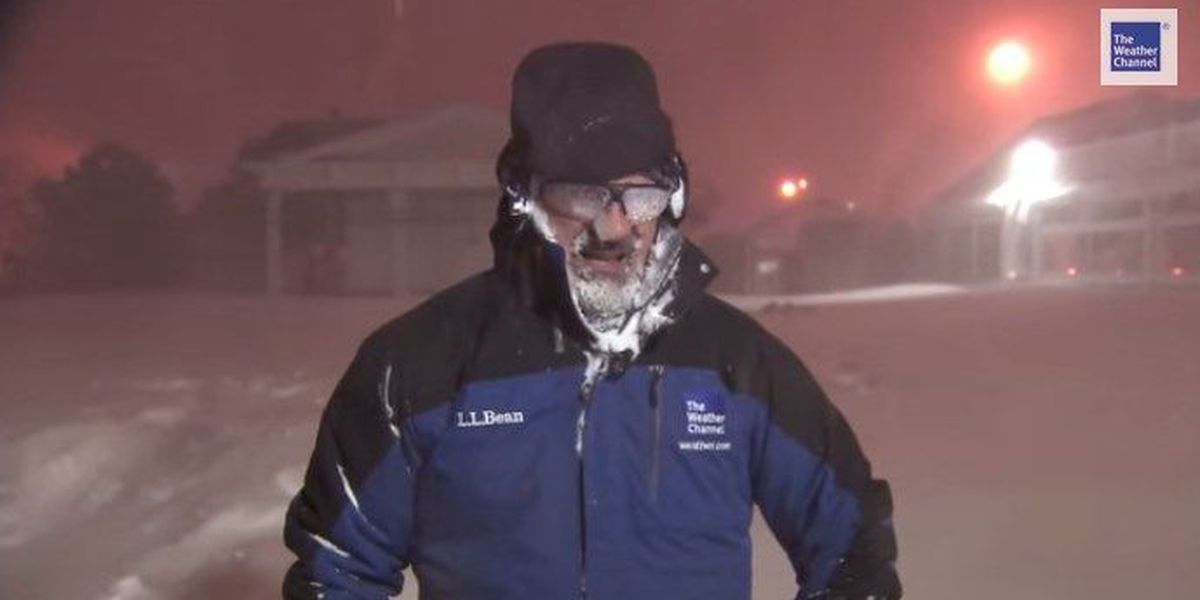Weather Channel's Jim Cantore loves thundersnow