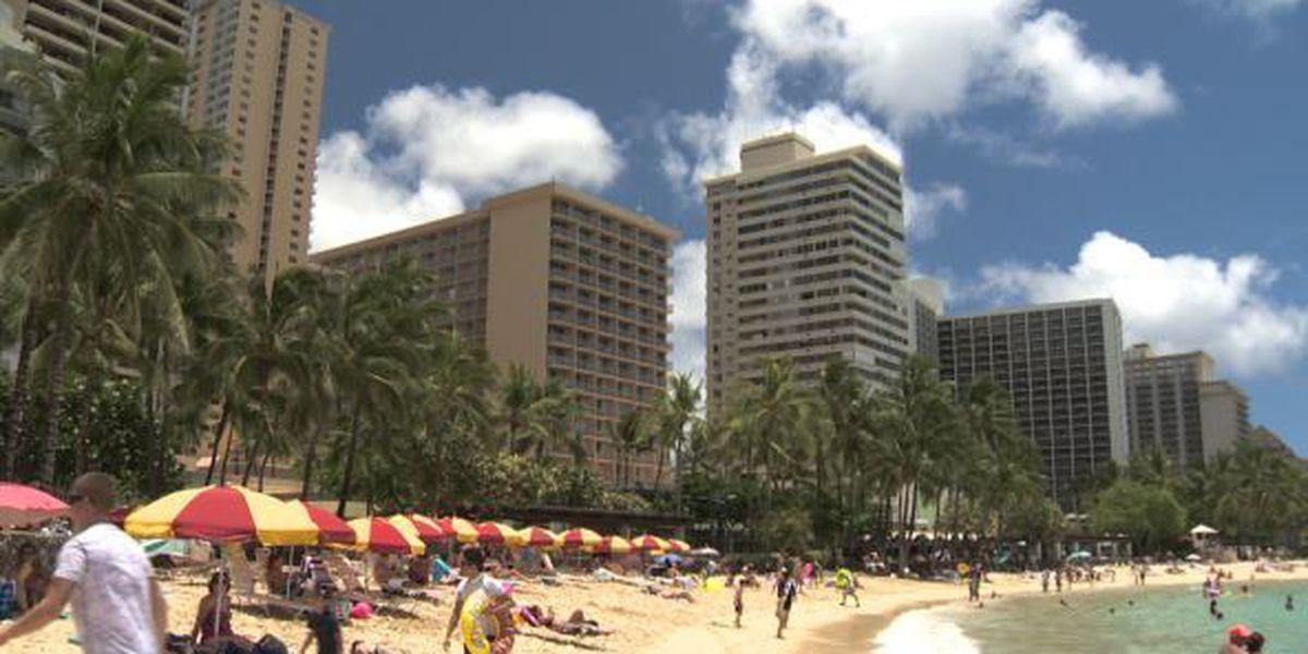 Report: Hotel revenues increase across Hawaii last month