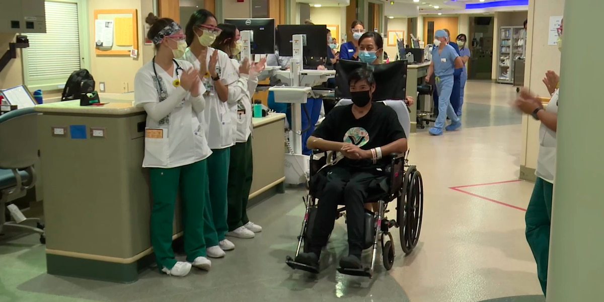 COVID almost killed an HPD officer. But he fought back and is now out of the hospital