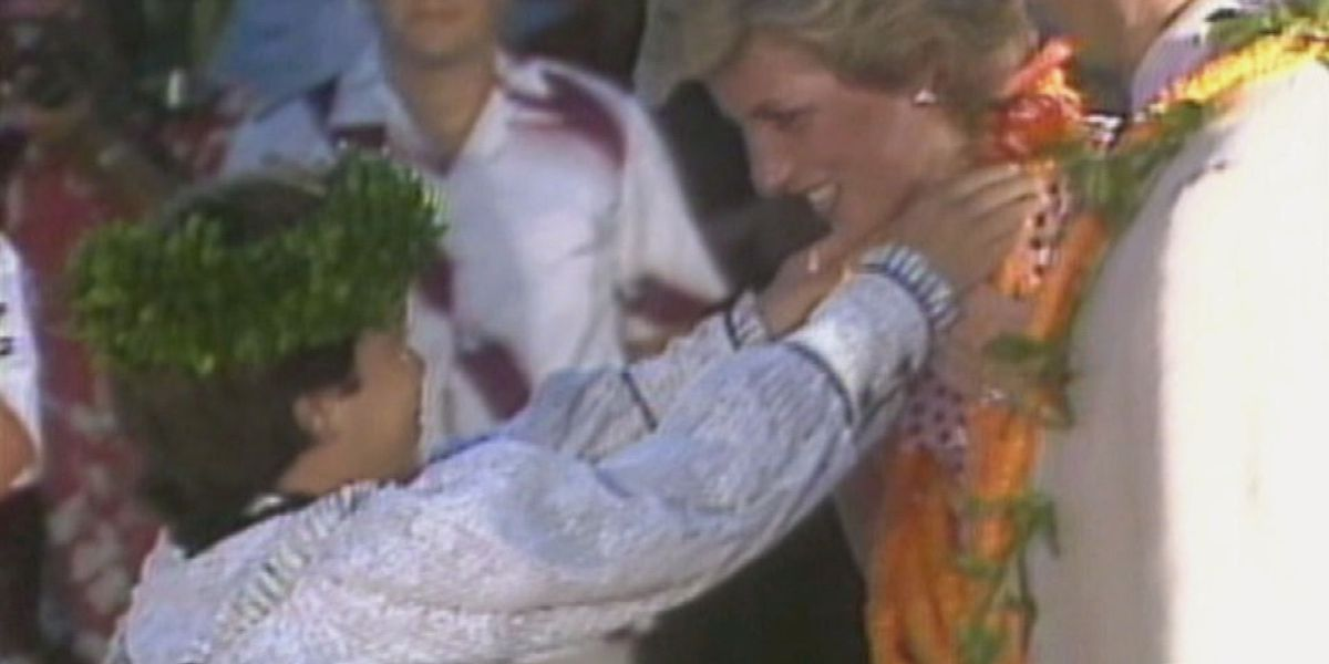 PHOTOS: Princess Diana's first trip to the Hawaiian Islands