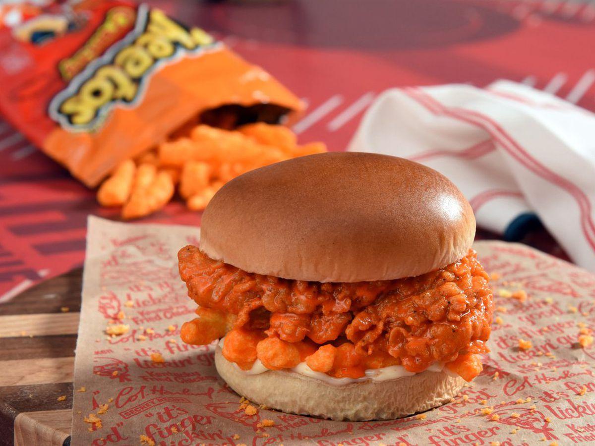 KFC launches Cheetos chicken sandwich