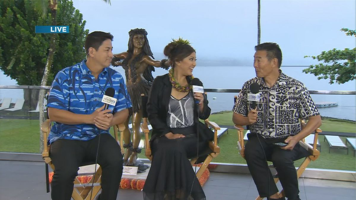 Day 1: Sunrise goes 'On the Road' to Hilo for Merrie Monarch 2019