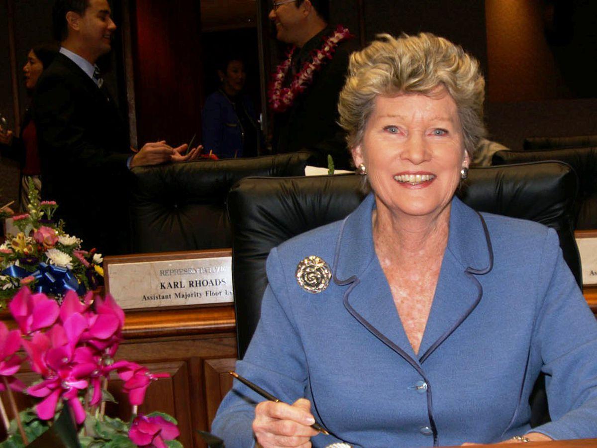 At 86, longtime Hawaii lawmaker bids aloha to politics