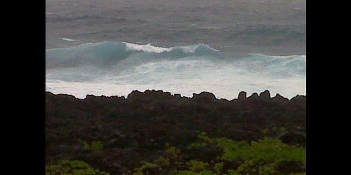 High surf advisory for east-facing shores remains in effect