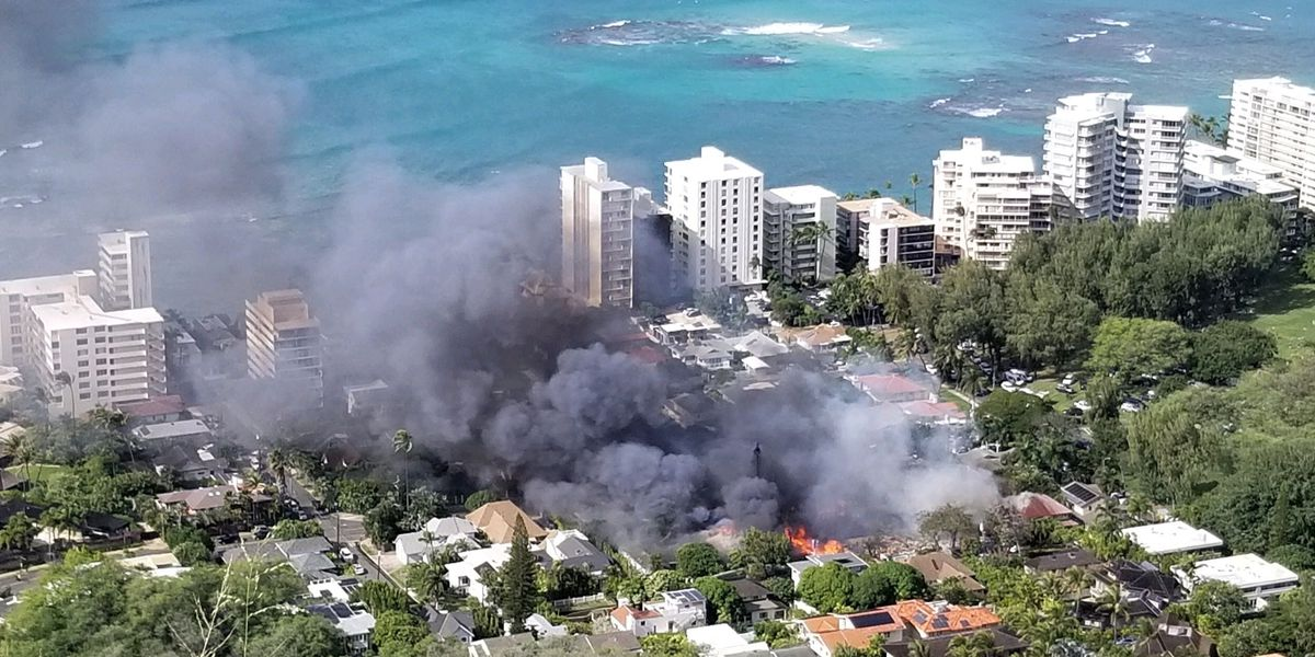 PHOTOS: Double fatal shooting, inferno rocks quiet Diamond Head community