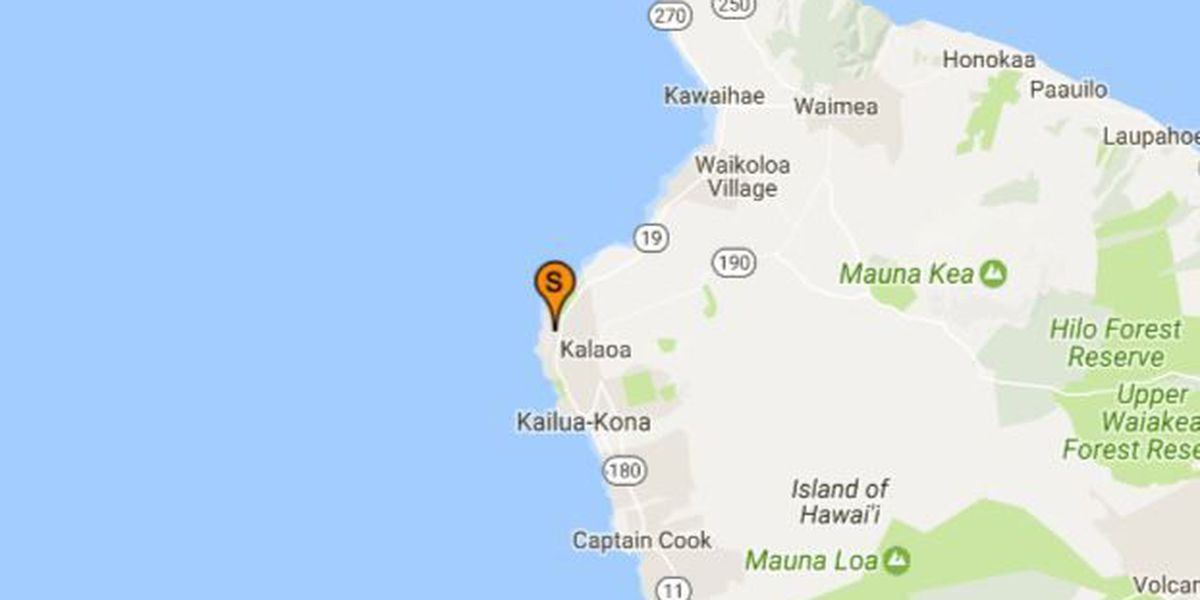 High levels of bacteria found in waters off Kona