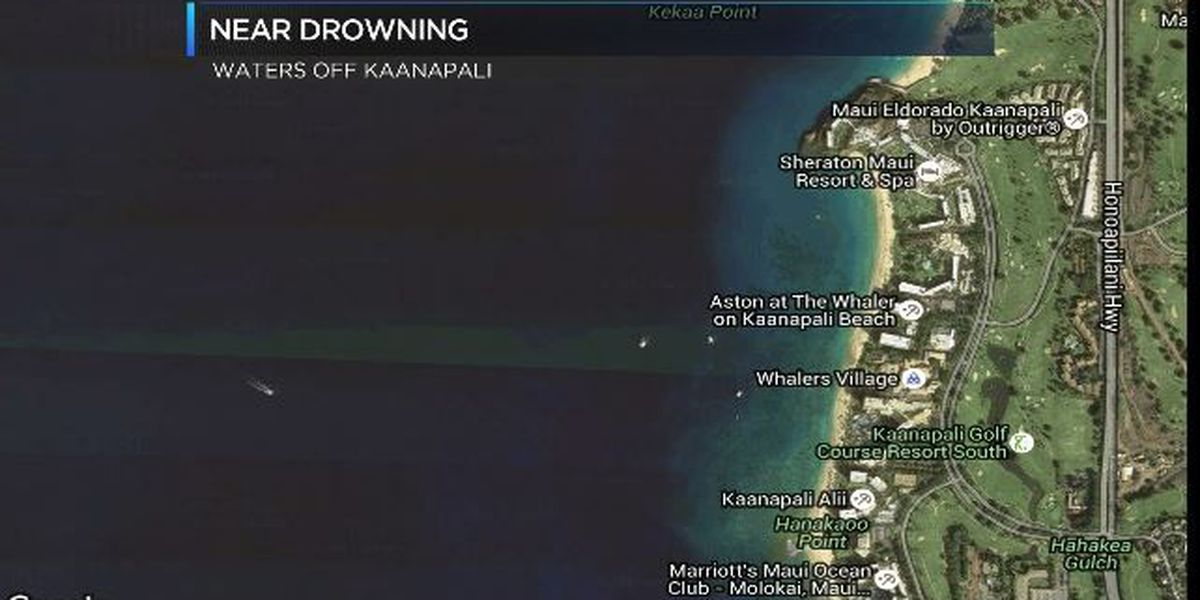 Bystander helps revive man who nearly drowned in waters off Maui