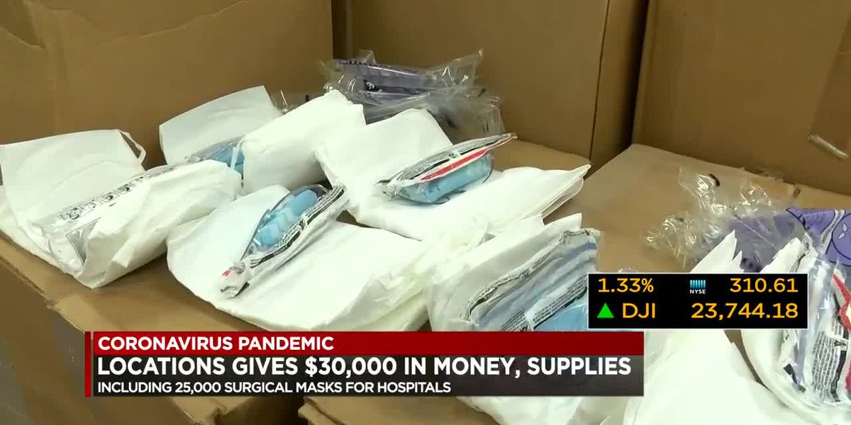 Business Report: Locations donates $30K to help with COVID-19 relief efforts