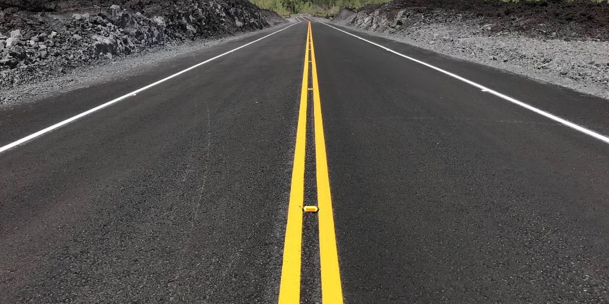 Portion of Hawaii Island's Highway 132 to reopen this week