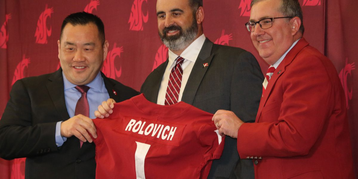 Rolo says 'mahalo' to Hawaii in introductory press conference at Washington State