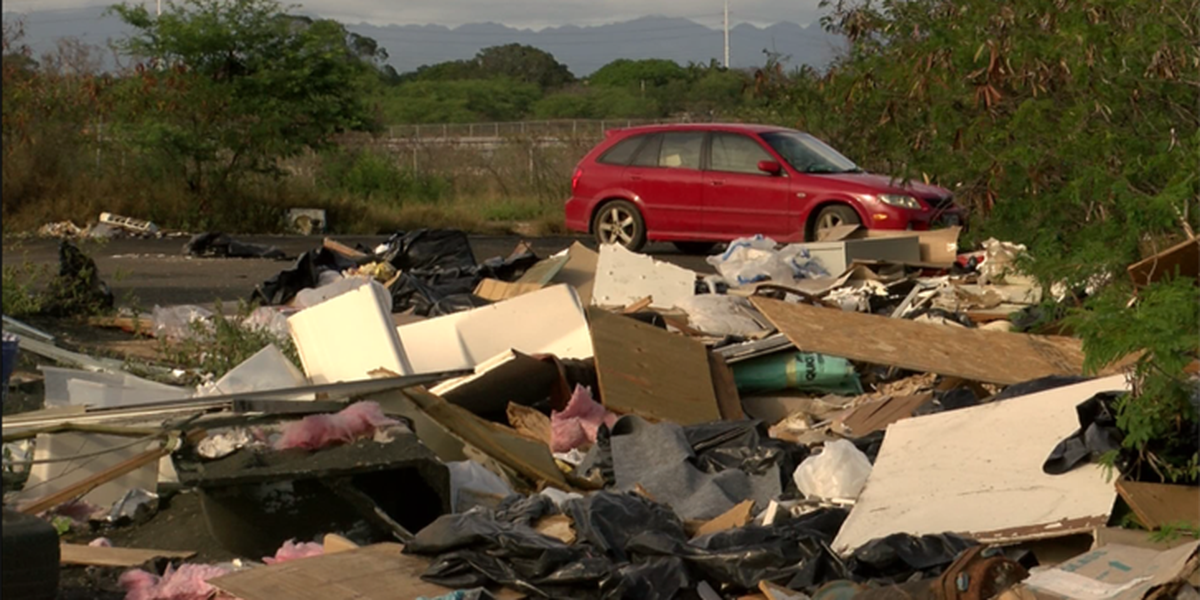 Former raceway becomes illegal, potentially toxic, dump site