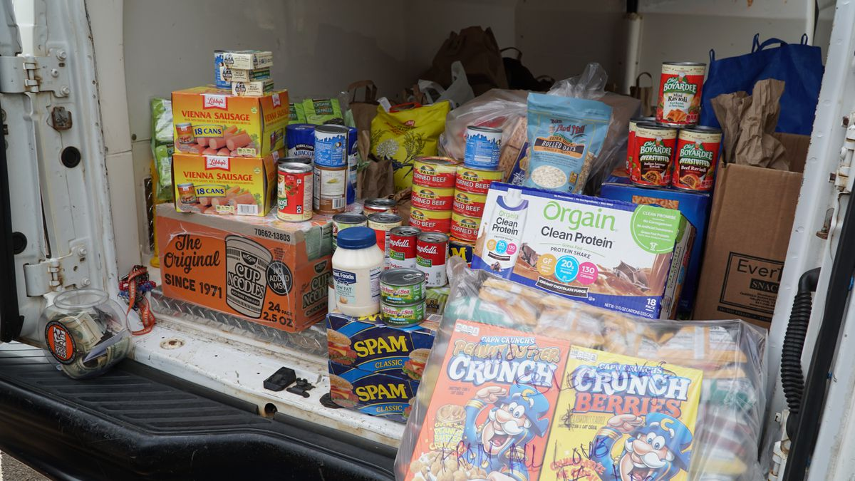 Around the state, the community efforts to feed those in need continue