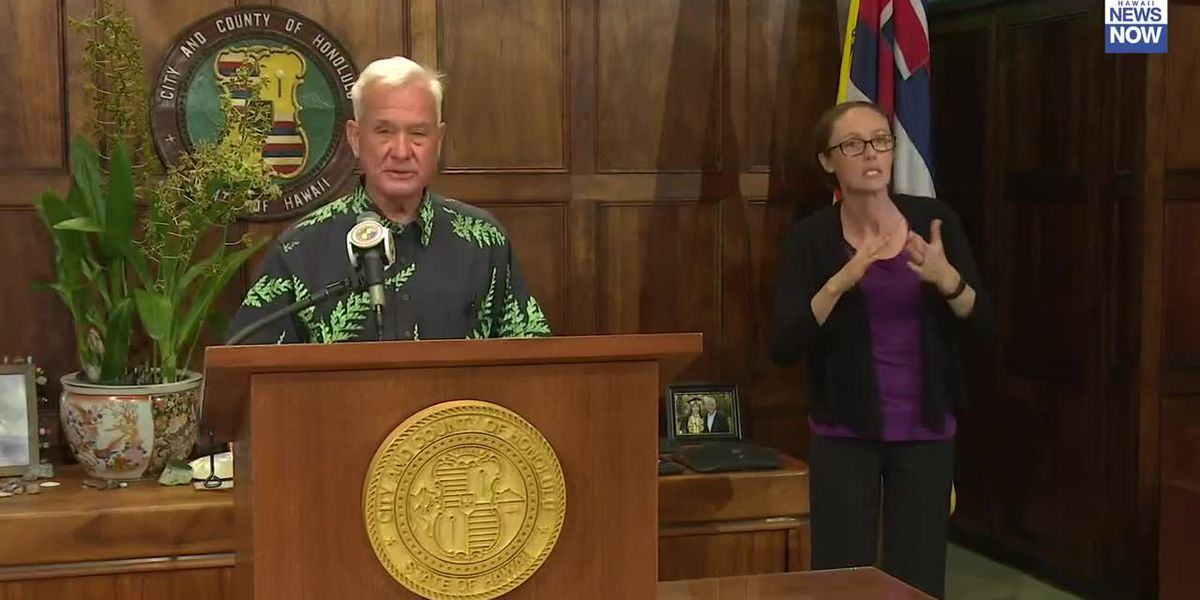 Mayor Caldwell implements new order mandating use of face masks on Oahu