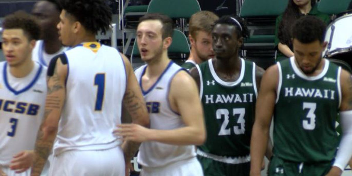 Warriors fall on the road to UCSB 61-79