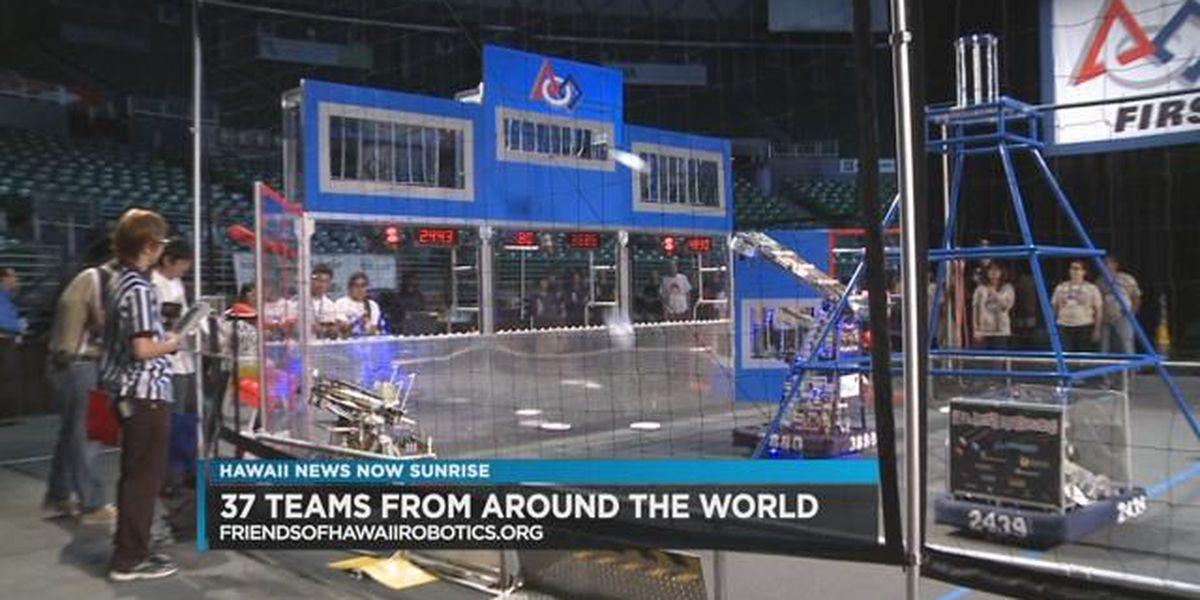 Friends of Hawaii Robotics celebrates robotics regional competition