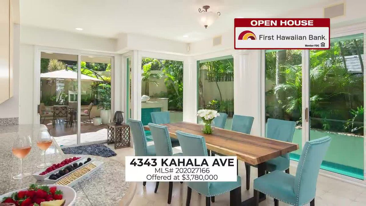 Open House: 2 BD, 1 BA in Aiea and Two-Story Home in Kahala