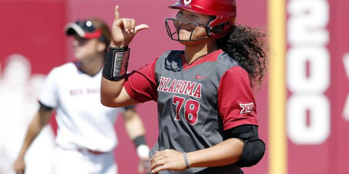 Alo's 2-run moonshot guides Oklahoma past Alabama