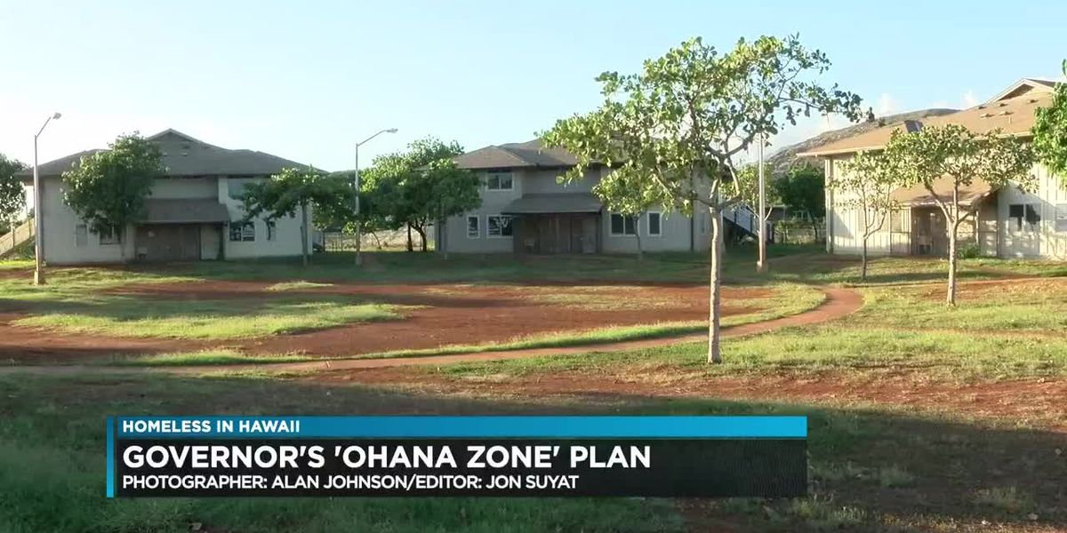 Legislators pan governor's $17M plan for homeless 'ohana zones'