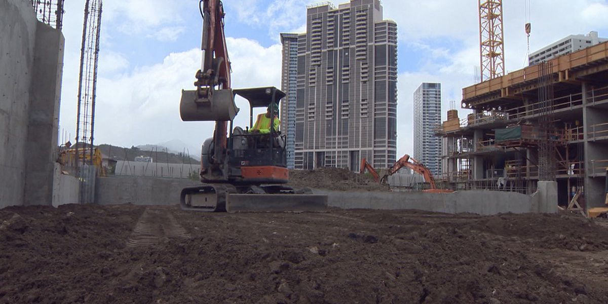 Hawaii construction industry may ease virus economic impact