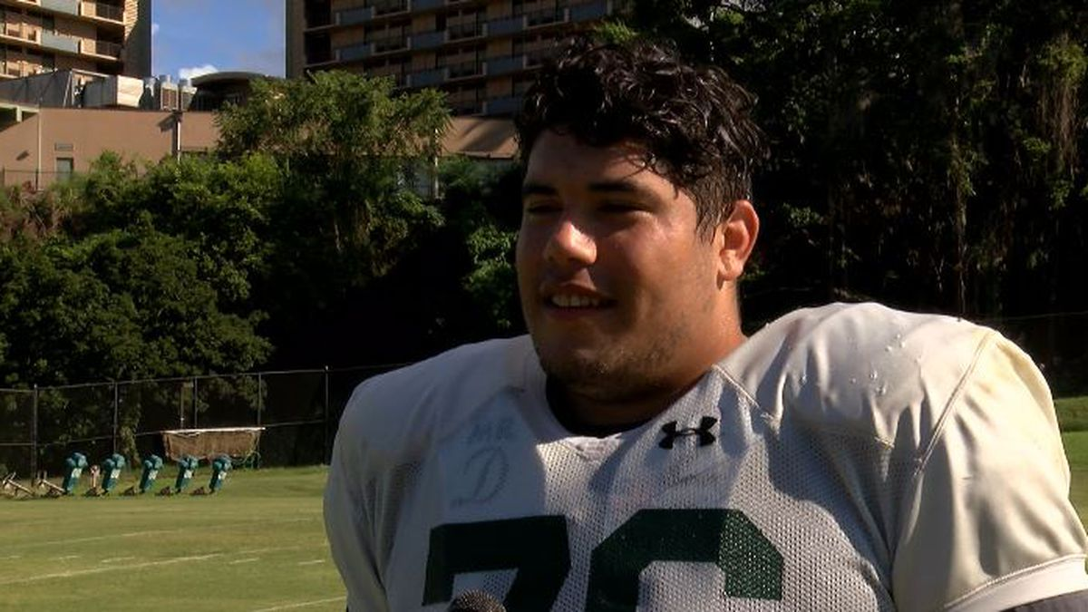 'I never thought this would happen': Michael Eletise reflects on football journey back to Manoa