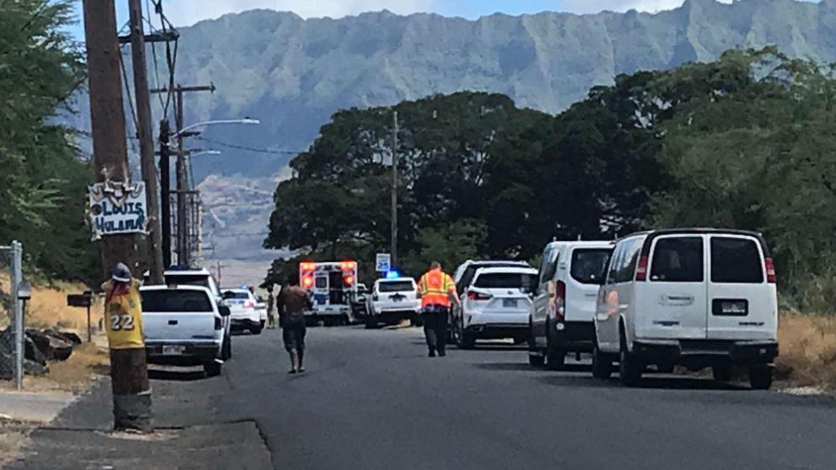 Suspected gunman still at-large after fatal leeward Oahu shooting