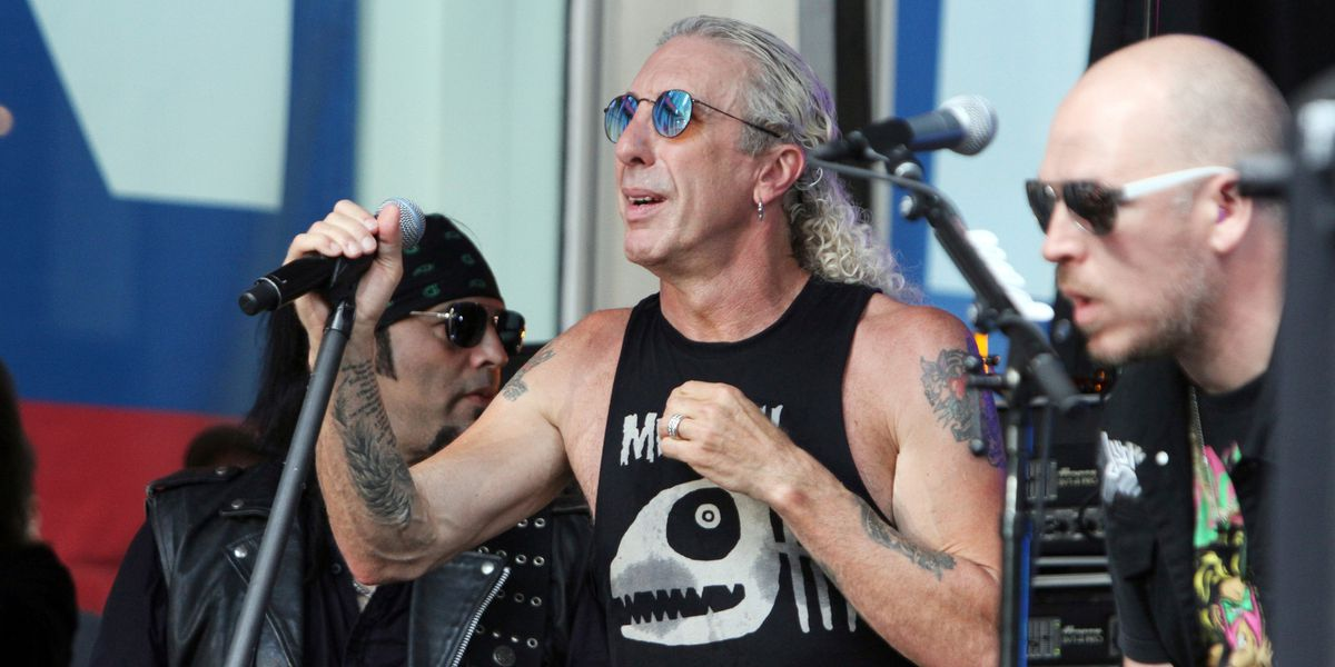 Twisted Sister singer to anti-mask protesters: Don't use our song