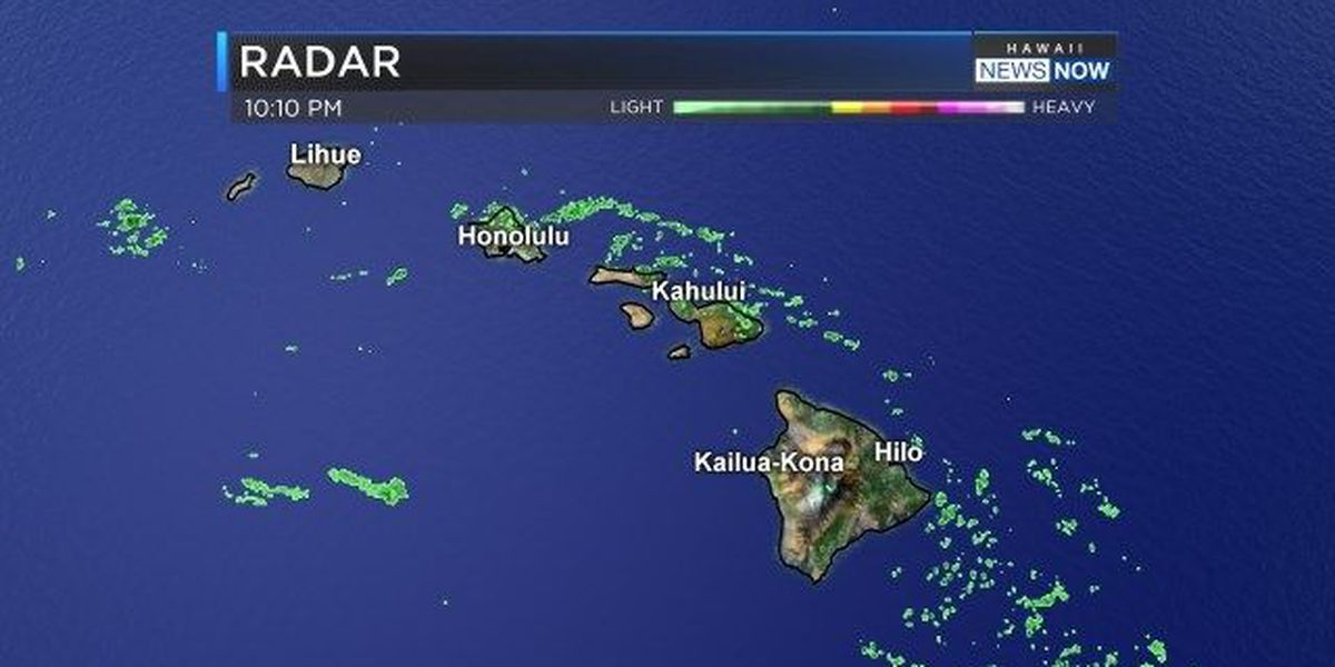 Forecast: Remnants of Blas bring moisture to the state