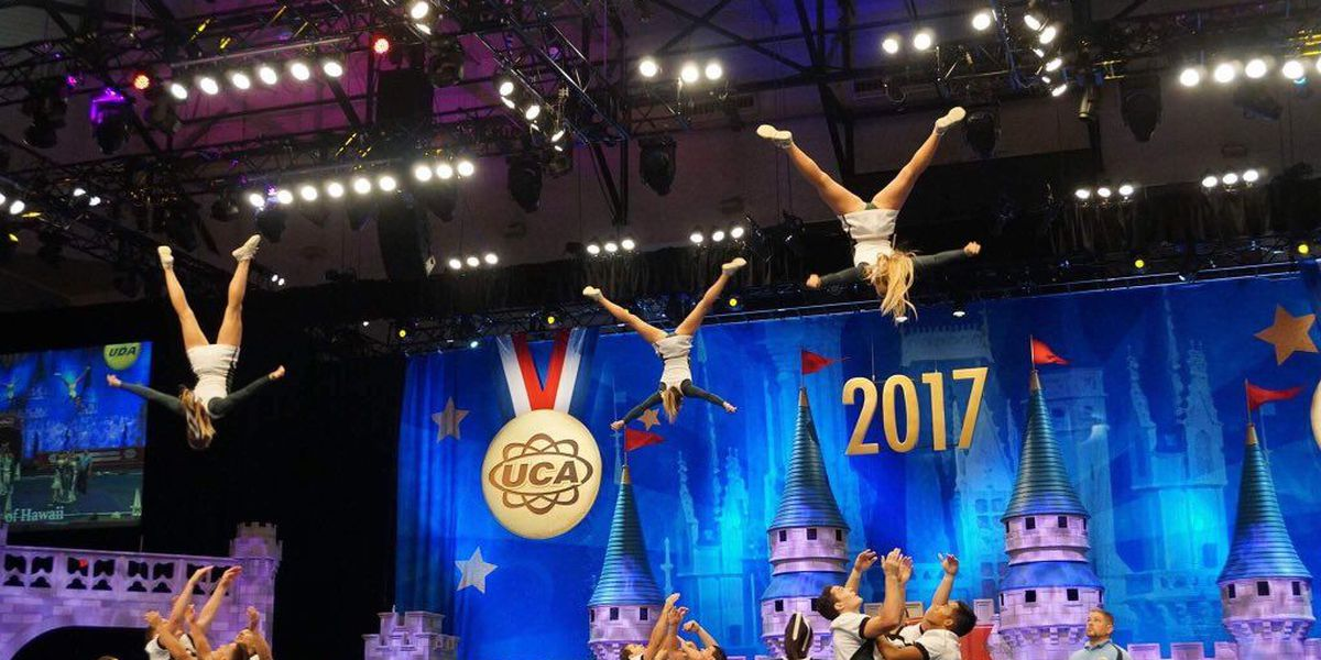 UH cheer team advances to finals in national competition